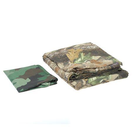 Han Bouwmeester Outdoor Tarnüberwurf Realtree Camouflage Polyester 215 x 250 cm – Bild 6