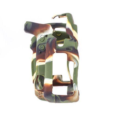 easyCover Silikon-Schutzhülle für Nikon D750 (camouflage) – Bild 3