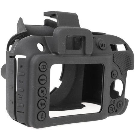 easyCover Silikon-Schutzhülle für Nikon D3400, D3300 – Bild 2