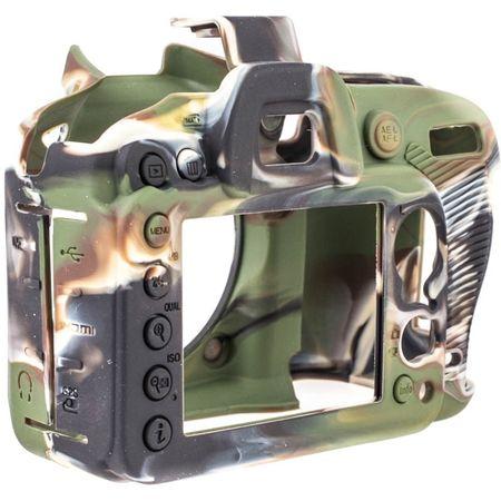 easyCover Silikon-Schutzhülle für Nikon D7200, D7100 (camouflage) – Bild 2