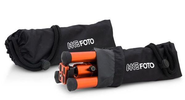 MeFoto Backpacker Air Reisestativ-Kit Lila – Bild 6