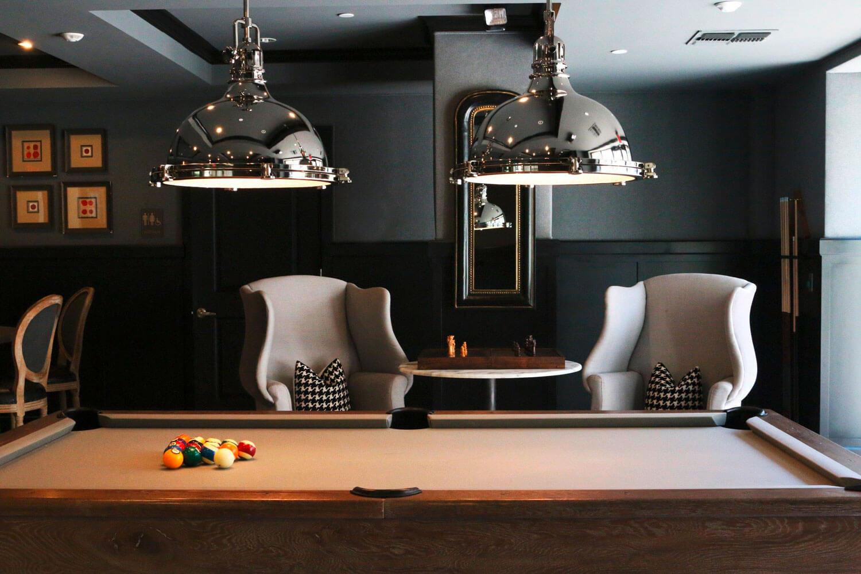 Billiard Royal Billard-Zimmer Raum Billard-Tisch