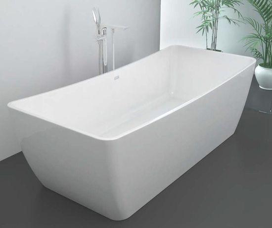 Freistehende Badewanne aus Mineralguss KZOAO-1490