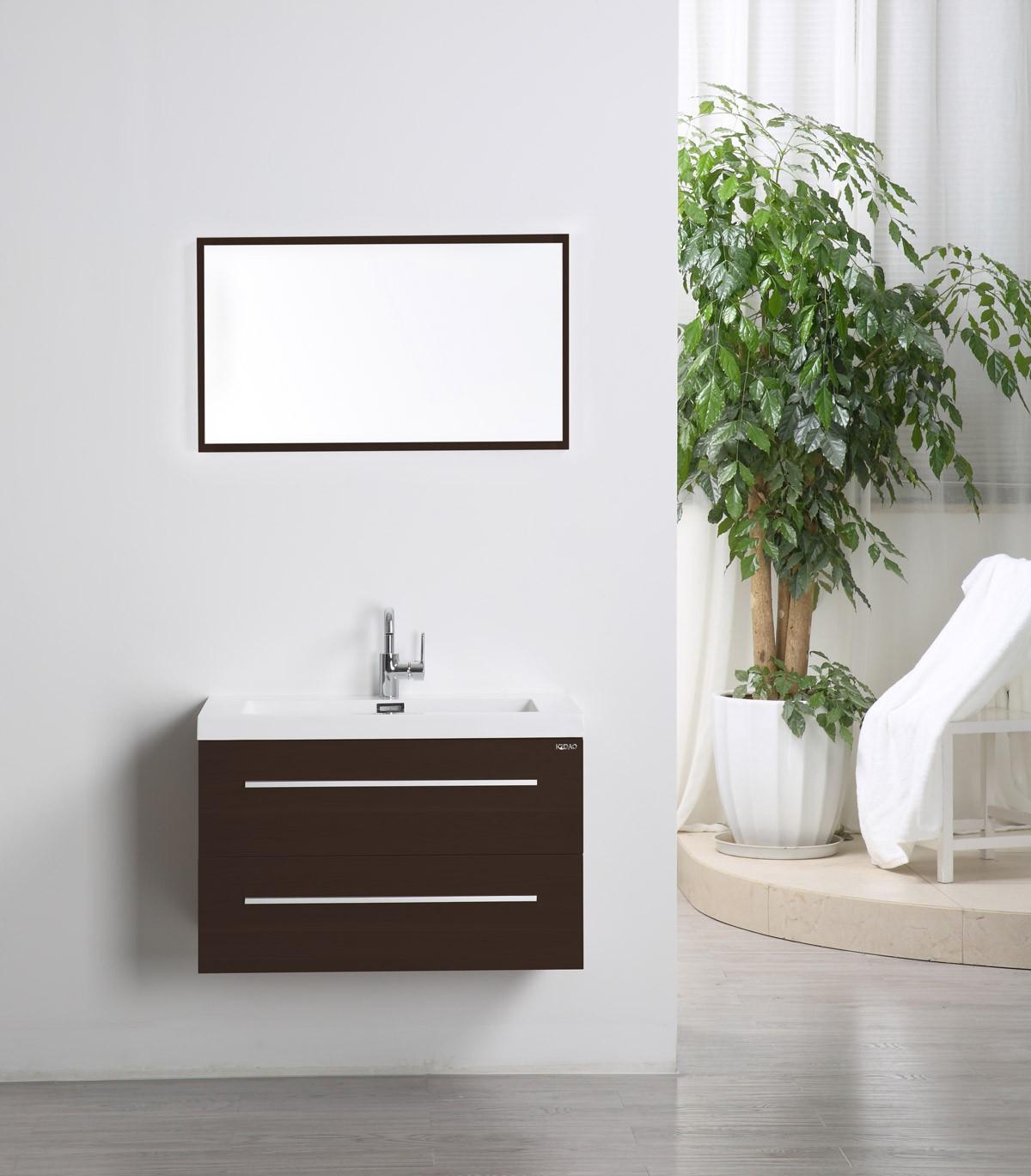 Madrid Waschtisch Set 80 Cm Mokka Badewelt Badezimmer Mobel