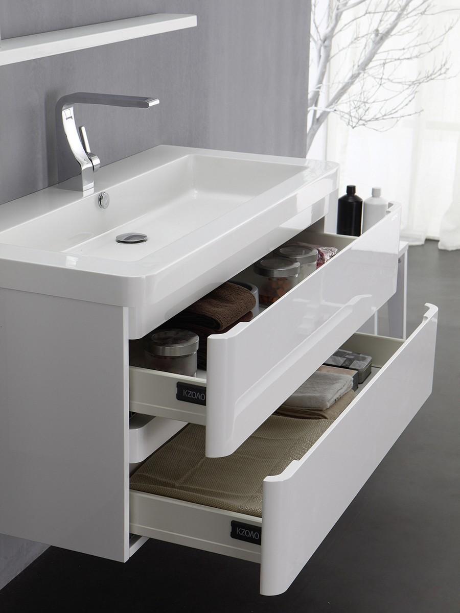 Berlin waschtisch set 65 cm wei badewelt badezimmer m bel for Mobel lagerverkauf berlin