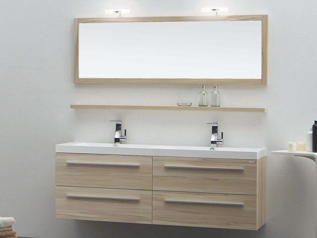 rom waschtisch set 120 cm kernahorn badewelt badezimmer m bel. Black Bedroom Furniture Sets. Home Design Ideas