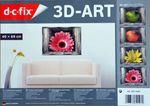 3D,Bild,Blüte,dreidimensional,rosa,räumlich,3D-Raumbild,Foto,Deko,Dekoration Bild 5