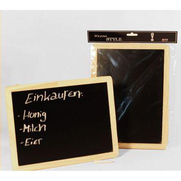 proheim Kreidetafel zum Hängen 22 x 30 cm, aus Holz inkl. Kreide 78052