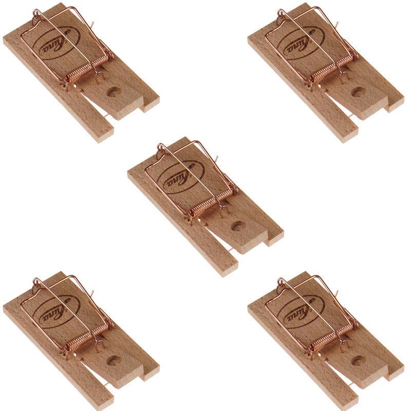 mausefalle 5 st ck m usefalle holz falle maus m use mausefallen mausfalle ebay. Black Bedroom Furniture Sets. Home Design Ideas