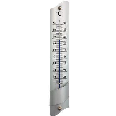 proheim Universal Thermometer 21,5 CM aus Aluminium in Silber 011564