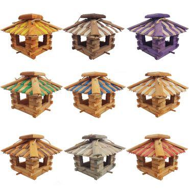 proheim Vogelfutterhaus 25,5 x 33 x 33 cm zum Aufhängen Art.Nr. K26 10