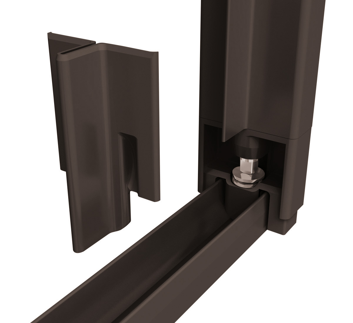insektenschutz t r doppelschiebet r 230x240cm grau. Black Bedroom Furniture Sets. Home Design Ideas