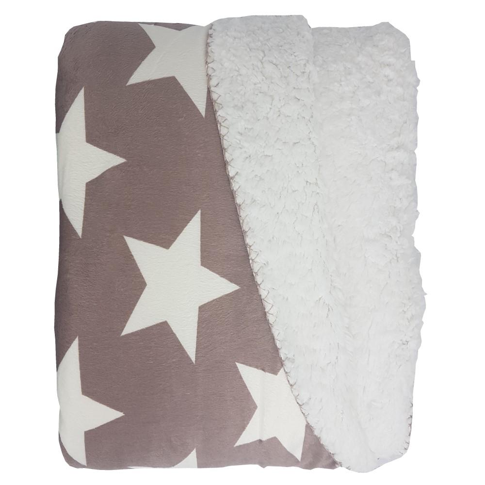 proheim wendedecke star supersoft w rmende kuschel decke. Black Bedroom Furniture Sets. Home Design Ideas