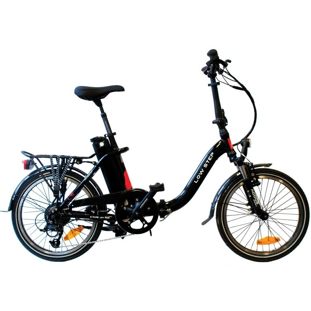 agogs low step 530wh elektrofahrrad ebike klapprad elektro. Black Bedroom Furniture Sets. Home Design Ideas