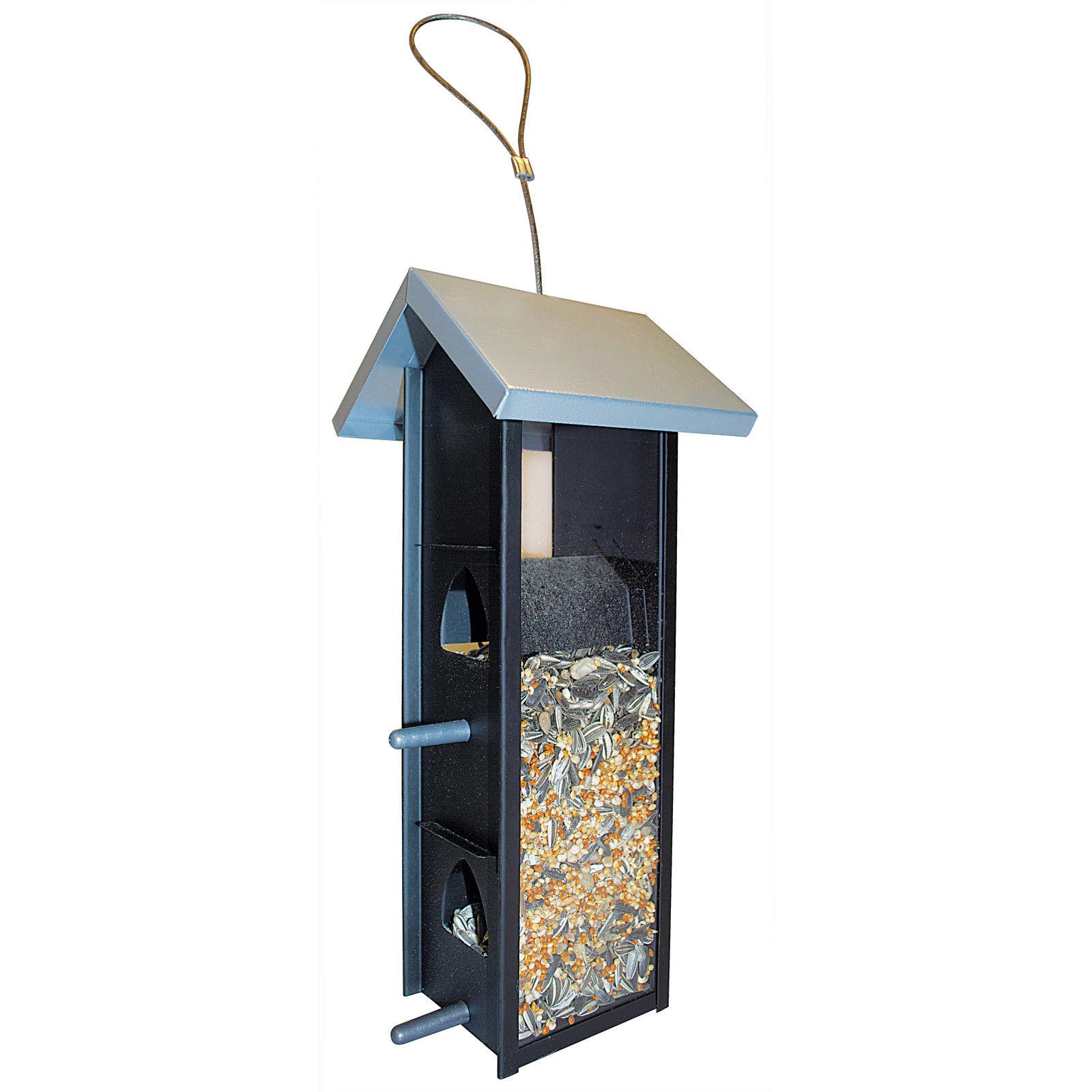 Fenêtre automatique sauvage Mangeoire Graines fil pendaison d/'aspiration alimentation Tasse Jardin