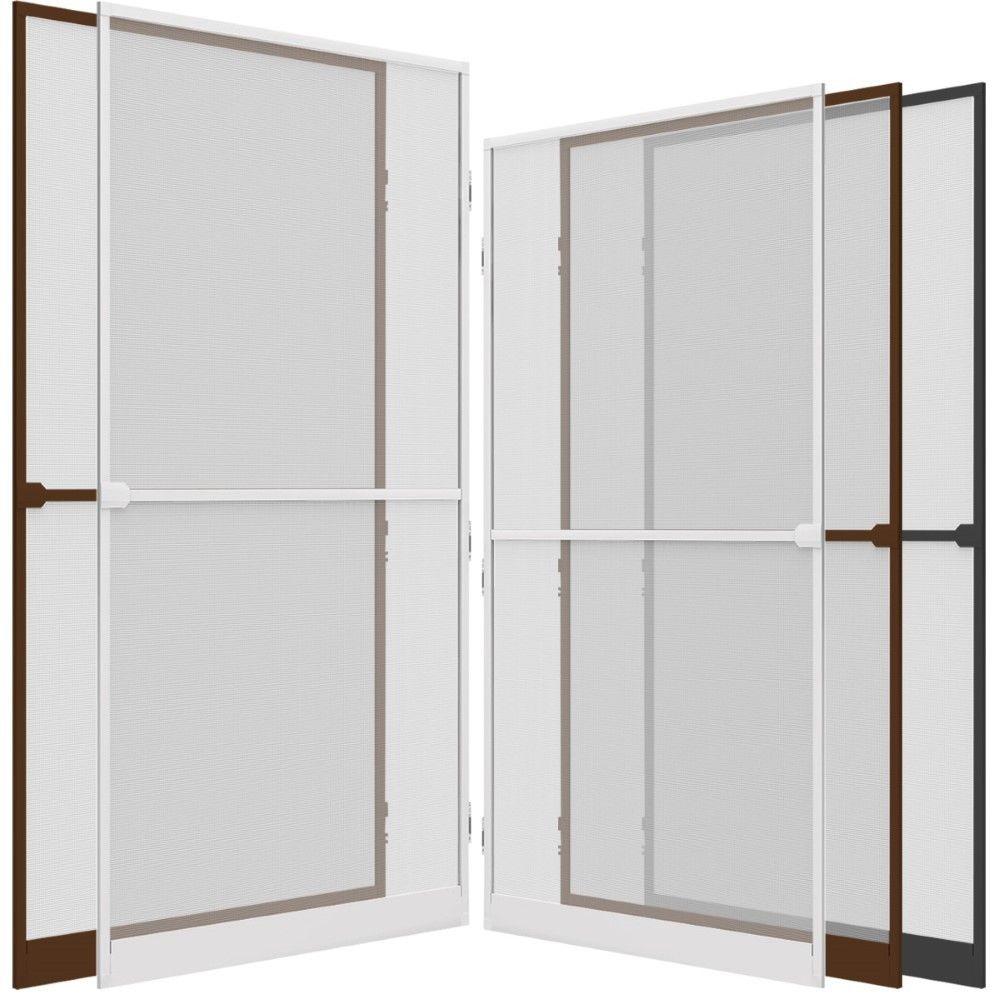 insektenschutz t r comfort alu rahmen t r fliegengitter m ckenschutz fliegennetz ebay. Black Bedroom Furniture Sets. Home Design Ideas