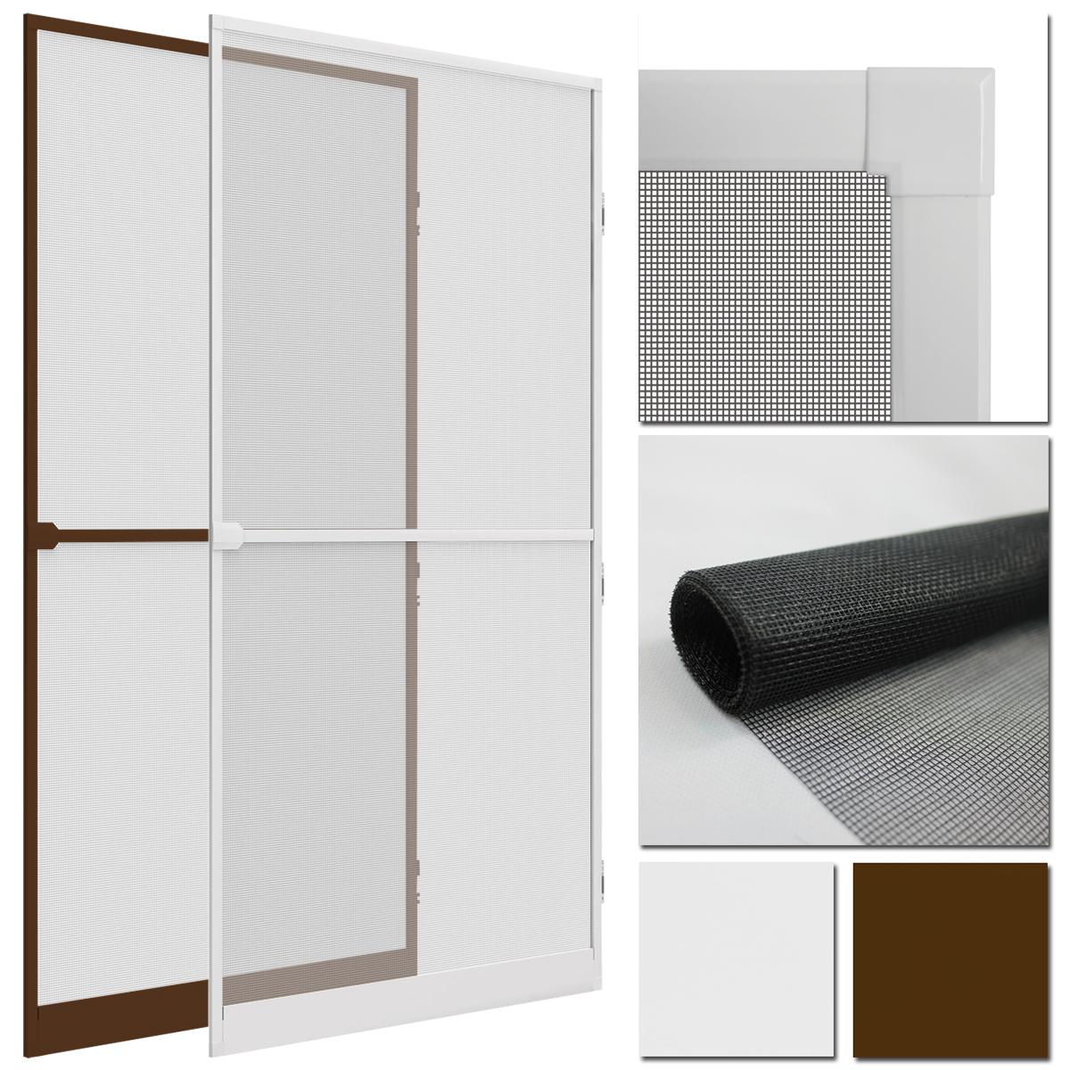 insektenschutz t r comfort xxl 120x240 alu rahmen fliegengitter m ckenschutz ebay. Black Bedroom Furniture Sets. Home Design Ideas