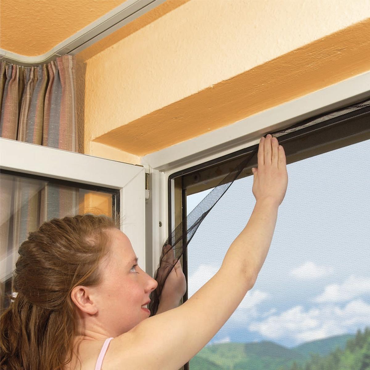 fliegengitter xxl 150x300cm insektenschutz fliegennetz moskitonetz m ckengitter ebay. Black Bedroom Furniture Sets. Home Design Ideas