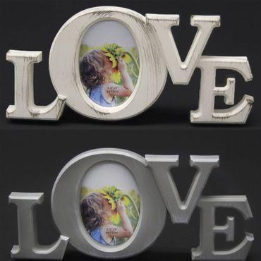 proheim Bilderrahmen 31 x 14,5 x 2 cm im Love-Design, Mini-Fotohalter