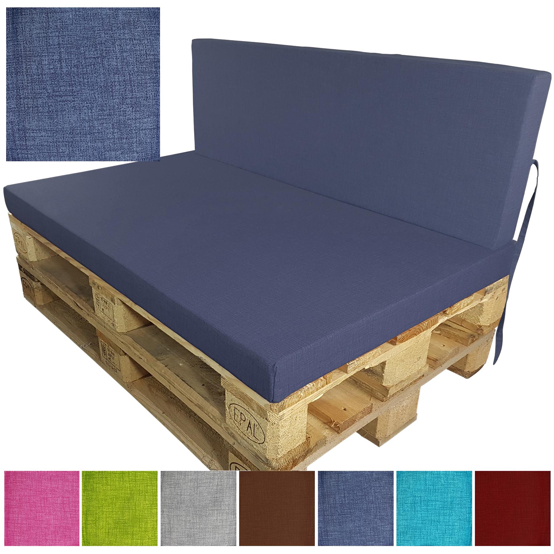 palettenkissen euro paletten polster outdoor sofa auflage sitzpolster sitzkissen ebay. Black Bedroom Furniture Sets. Home Design Ideas