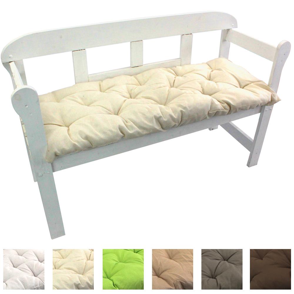gartenbank auflage sitzpolster bankpolster polsterauflage bankkissen bankauflage ebay. Black Bedroom Furniture Sets. Home Design Ideas