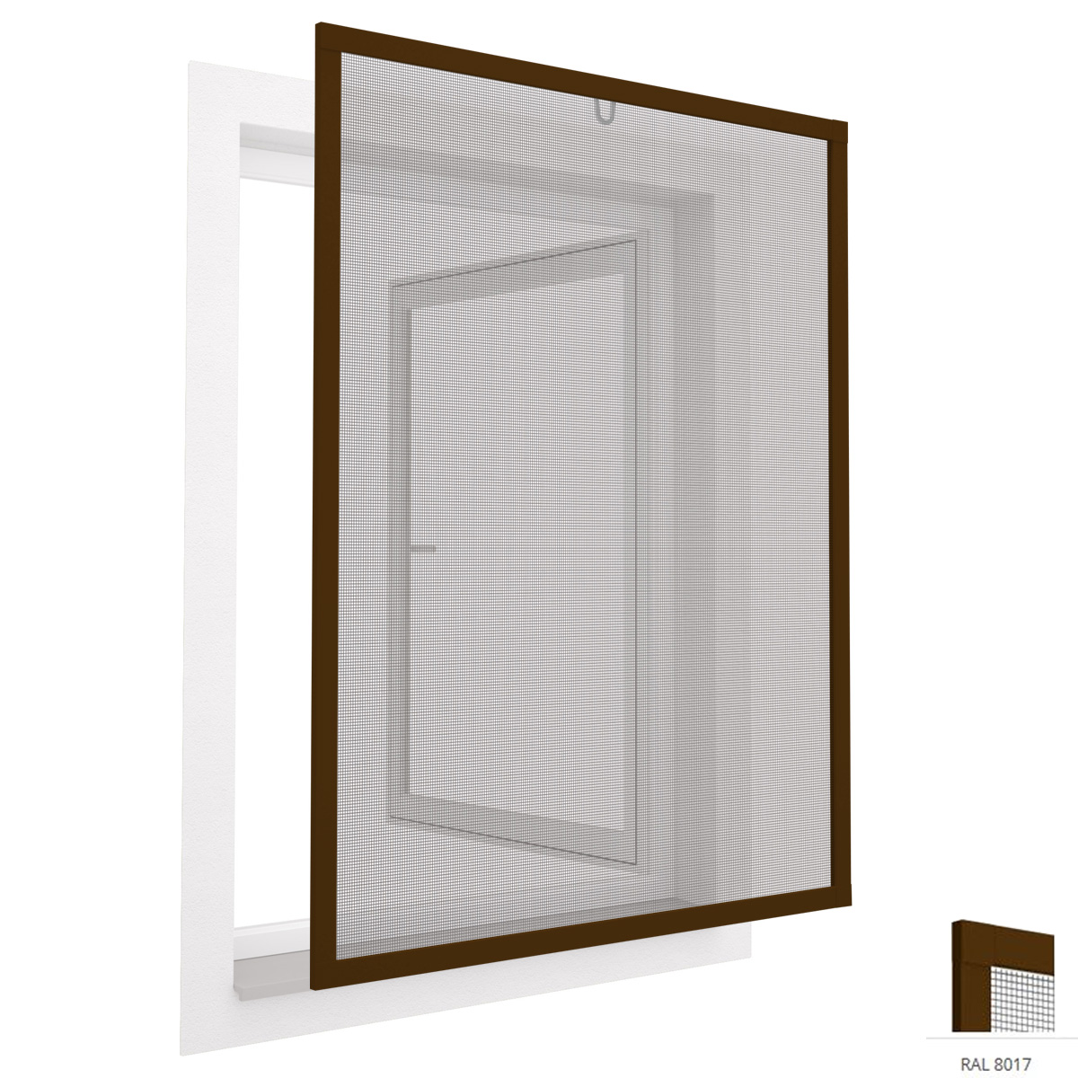 insektenschutzfenster fliegengitter mit alu rahmen. Black Bedroom Furniture Sets. Home Design Ideas