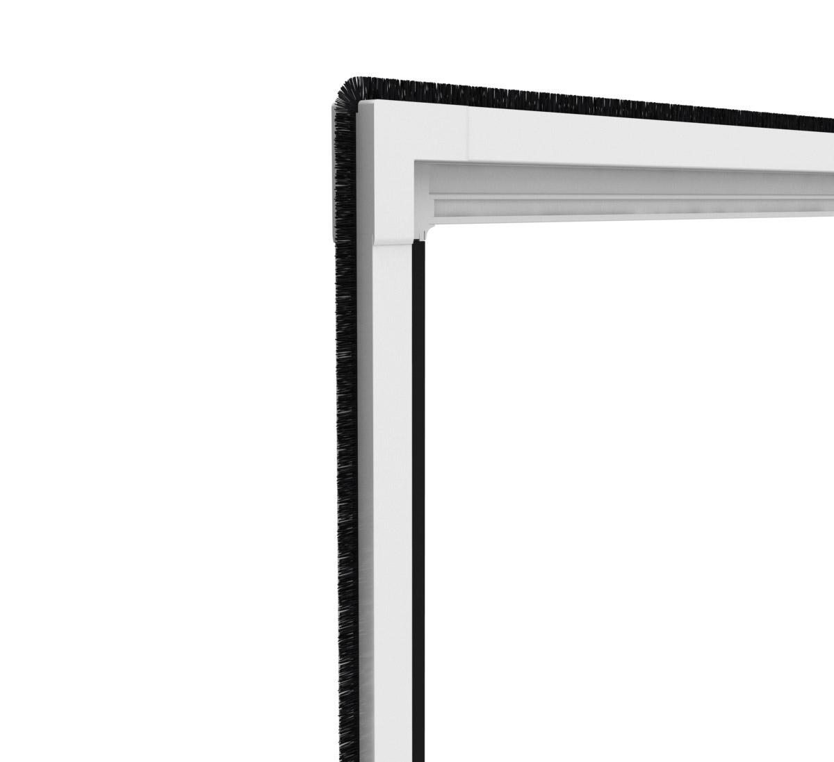 easy life insektenschutz alu t r xl 120 x 240 cm klemmmontage proline wohnen haushalt. Black Bedroom Furniture Sets. Home Design Ideas