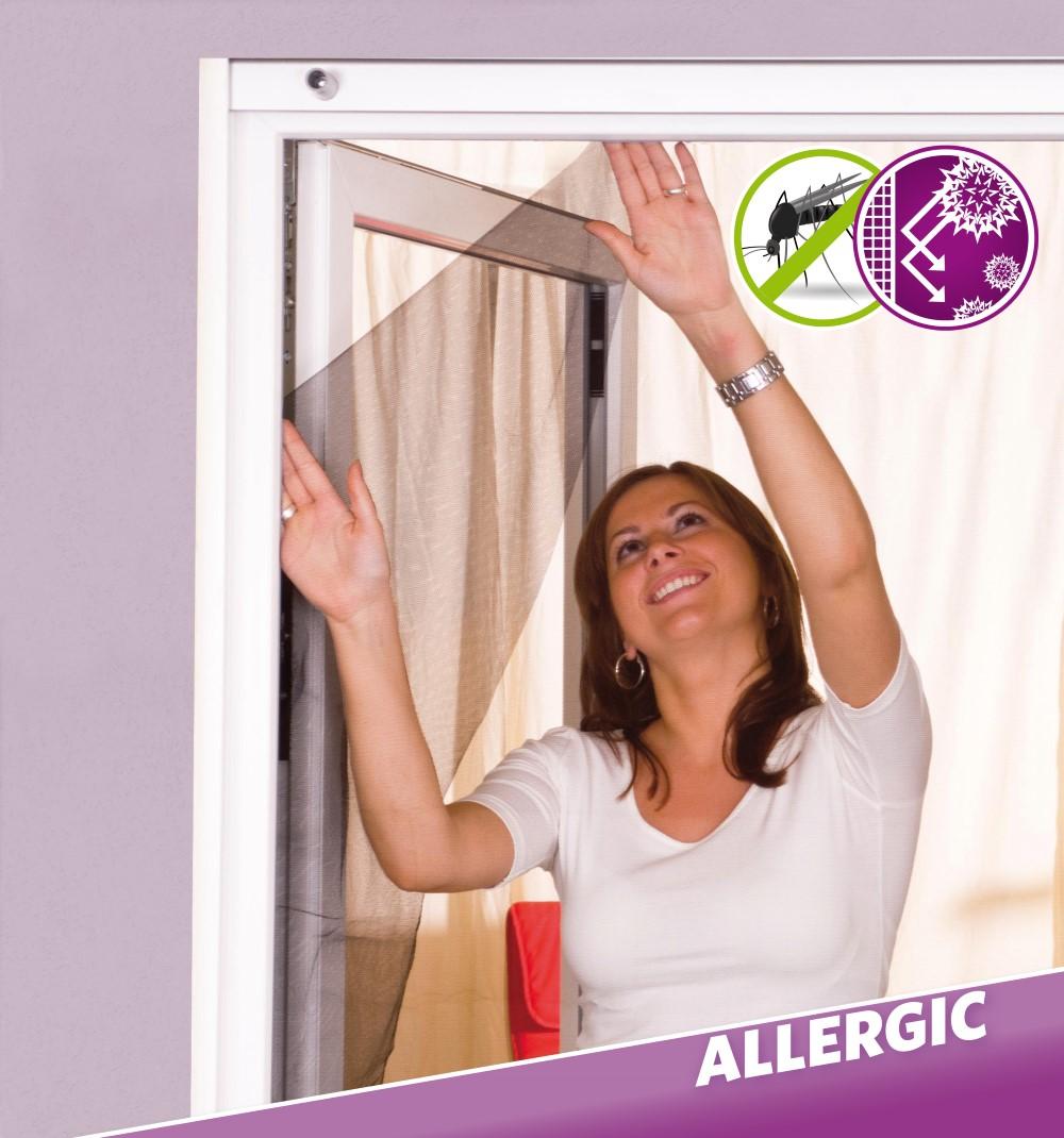 easy life pollenschutz vlies basic f r fenster 130 x 150 cm wohnen haushalt insektenschutz. Black Bedroom Furniture Sets. Home Design Ideas