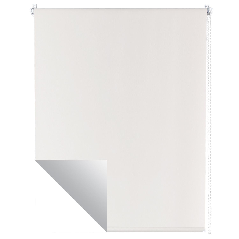 thermorollo wei verdunkelungsrollo klemmfix ohne bohren. Black Bedroom Furniture Sets. Home Design Ideas