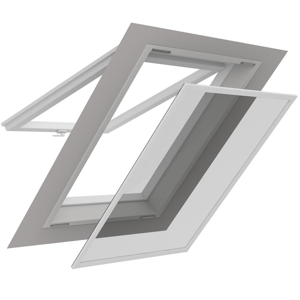 insektenschutz dachfenster 140x170cm alurahmen gitter sonnenschutz fliegengitter ebay. Black Bedroom Furniture Sets. Home Design Ideas