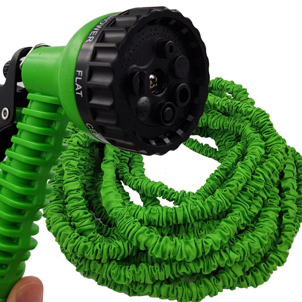 Flexibler Gartenschlauch 10-30m Wasserschlauch dehnbarer ...