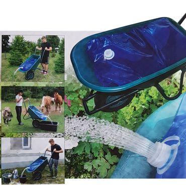 proheim Wasserbeutel 80 Liter Wasserbehälter für Schubkarre - Faltsack