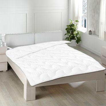 Bettdecke 135x200 cm 2er Set aus 100% Mikrofaser - Ganzjahres Steppdecke