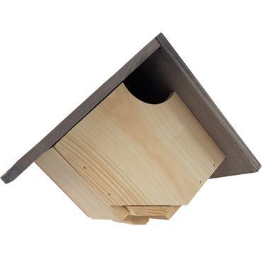 2er Set proheim Schwalben-Nistkasten 22x16x10cm aus Holz zum Hängen BL36
