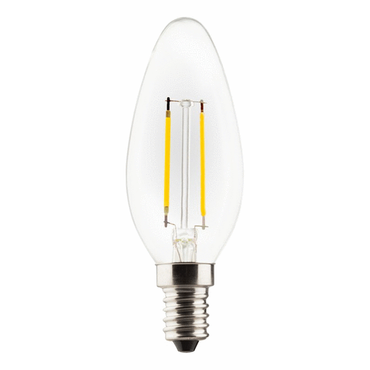 LED Kerzenform 2,2W (25W) 220-240V E14 250lm 2700K Retro-LED