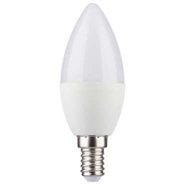 LED Kerzenform 5,5W (40W) 220-240V E14 470lm 180° 2700K DIM HD-LED