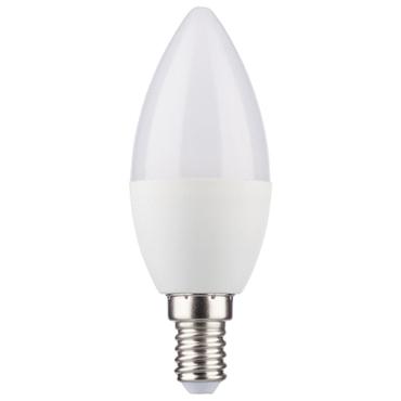 LED Kerzenform 5,5W (40W) 220-240V E14 470lm 180° 2700K DIM