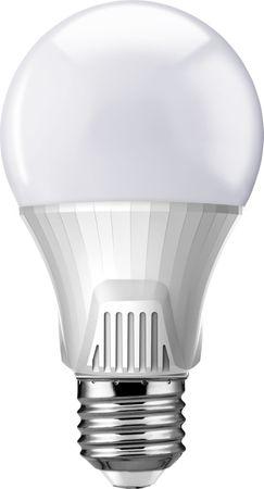 Lucy Phere Led Lampe-Leuchtmittel-Birnenform mit Samsung Chip E27 Sockel 9W (60W) schöne hellweiße 4000K, 220-240V, elegantes Design, Lebensdauer 25.000h, 4 Jahre Herstellergarantie