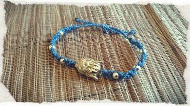 Armband ~Buddha~ blau