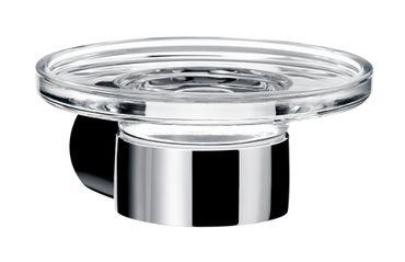 EMCO FINO Seifenhalter Kristallglas klar, chrom