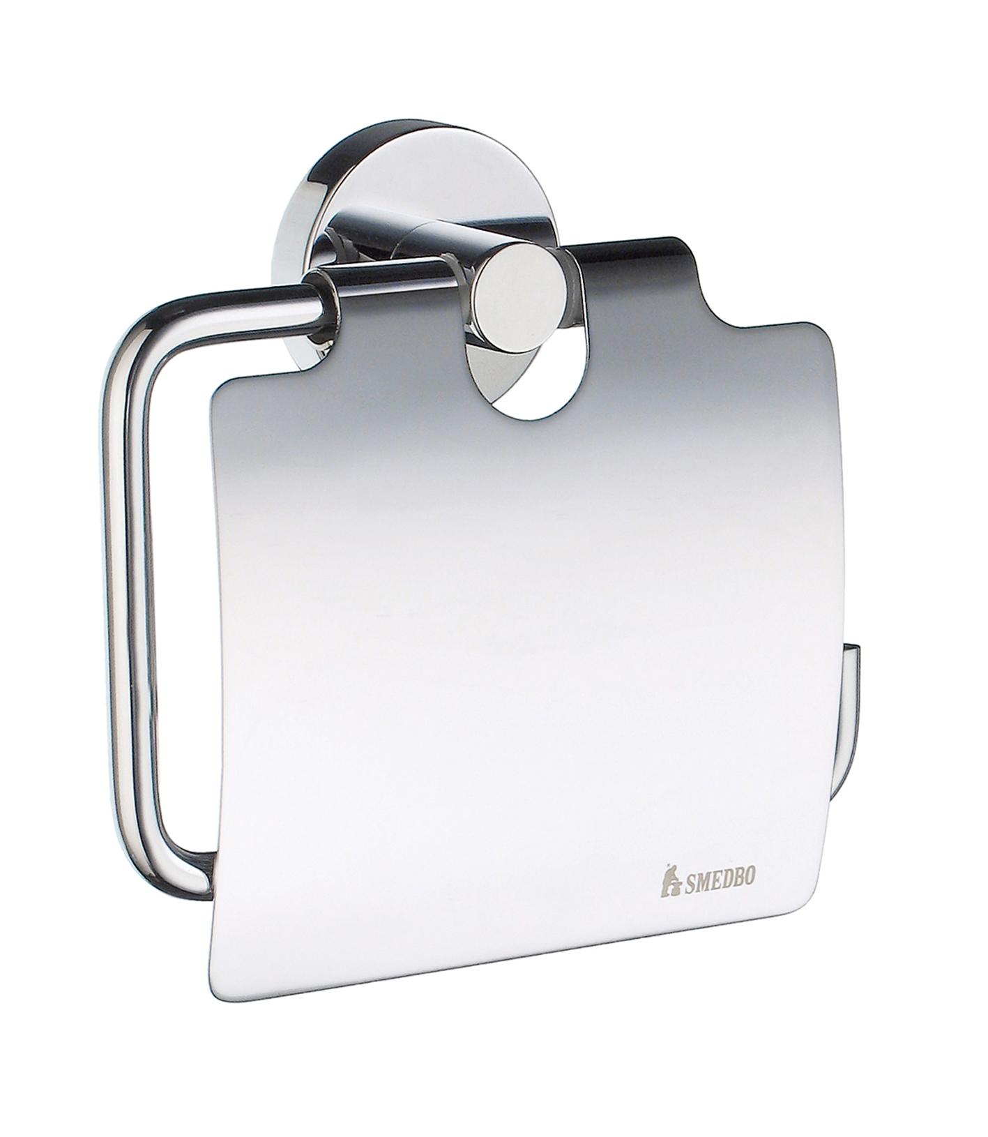 SMEDBO HOME WC-Papierhalter mit Deckel HK3414