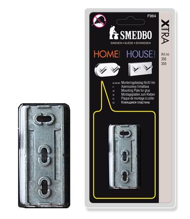 SMEDBO XTRA Montageplatte 1 Stk Home House Haken