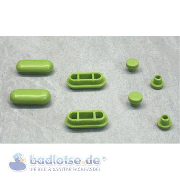 ASEM WC-Sitz-Füße grün