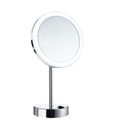 SMEDBO OUTLINE Stand-Kosmetikspiegel rund 5-fach FK484E