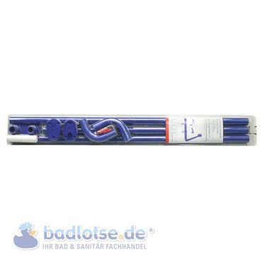 Winkelstange Ø 25 mm blau 3er