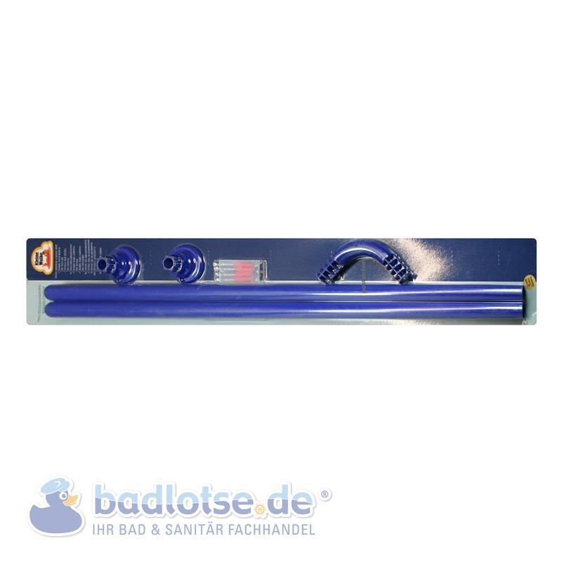 Winkelstange Ø 25 mm blau 2er