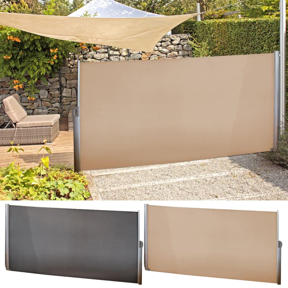 Seitenmarkise 300 X 160 Cm Premium Garten Sichtschutz