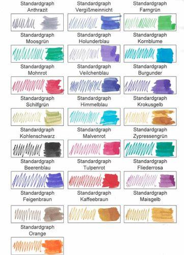 Standardgraph Tinte fein kornblume 30ml 572212 – Bild 2