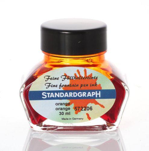 Standardgraph Tinte fein orange 30ml 572206