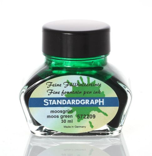 Standardgraph Tinte fein moosgrün 30ml 572209